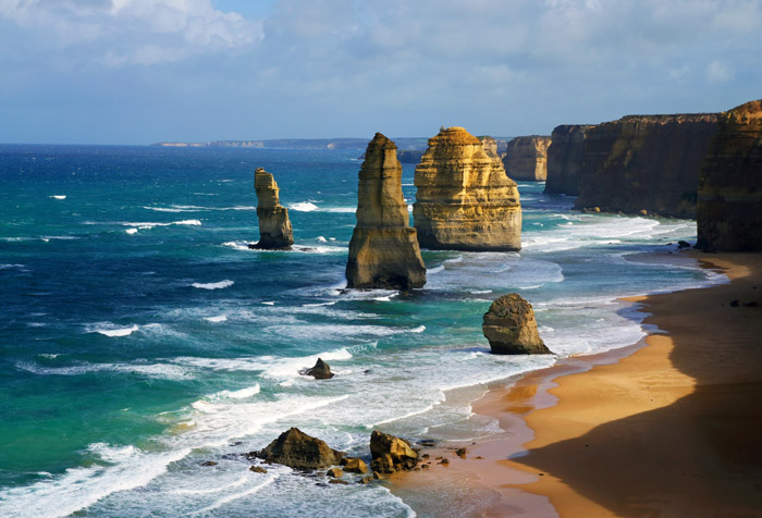 Shop Apostles In Australia Wallpaper In Coastal Landscapes