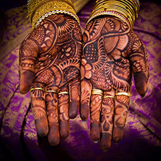 Hands With Mehandi
