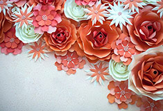Bouquet Of Paper Roses