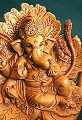 Carved Idol of Ganesha