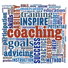 Coaching Concept In Word