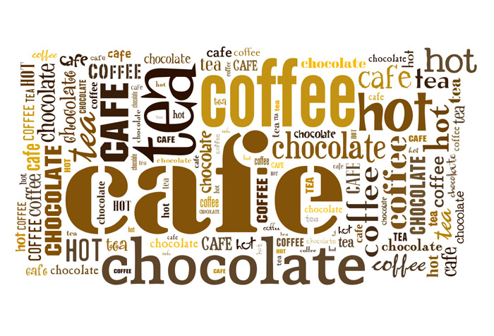 Shop Coffee Shop Text Wallpaper in Text & Words Theme