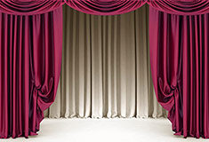 CrimsonTheatre Curtain