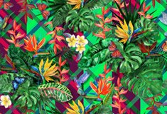 Exotic Plants Seamless