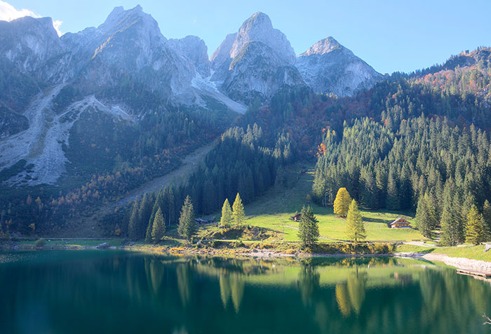 Shop Gosau Austria Wallpaper In Nature Amp Landscapes Theme