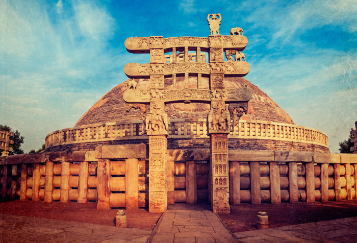 Sanchi Stupa Wallpaper Hd: Shop Great Stupa Wallpaper In India Theme