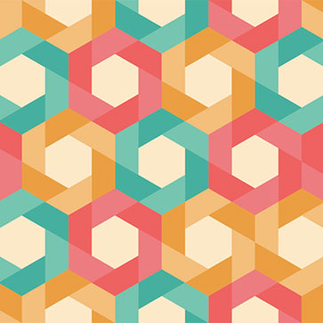 Hexagonal Geometric Shapes