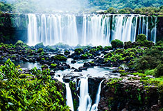 Iguassu Falls View From Brasil