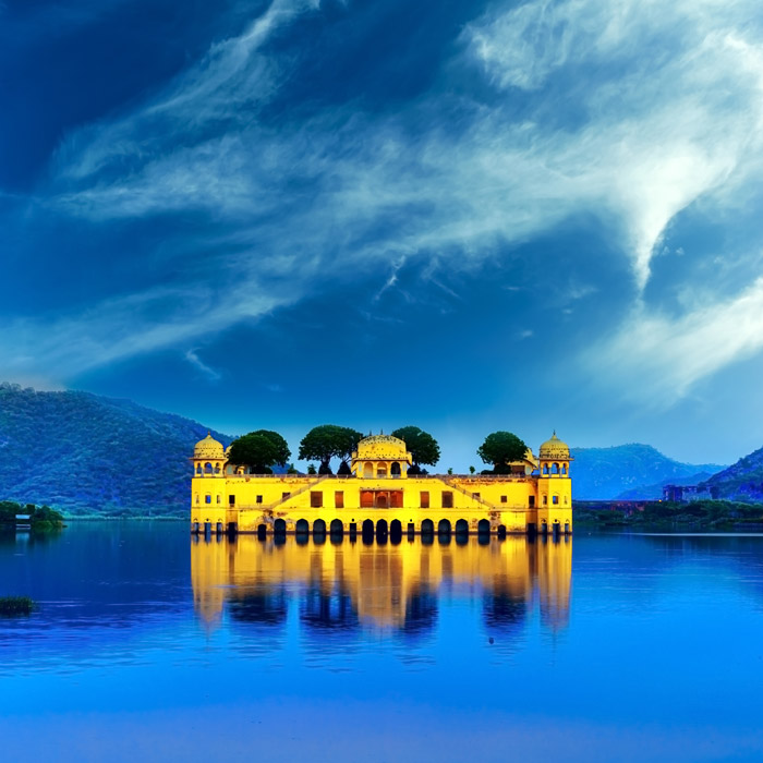 Shop Jal Mahal Jaipur Wallpaper In India Theme