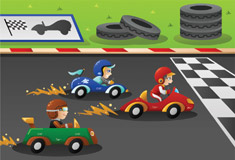 Kids Racing Sports Car