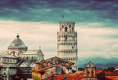 Leaning Tower Panorama