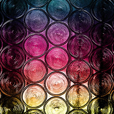Multicoloured Glass
