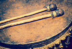 Old Leather Drum