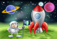 Outer Space Toons