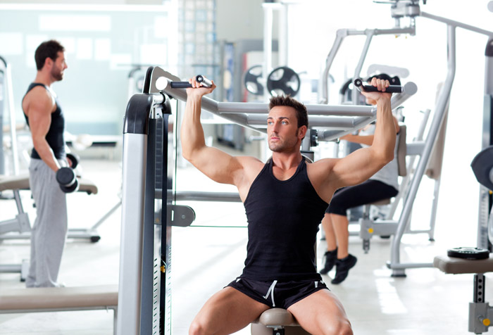 People training with weight wallpaper for fitness gym