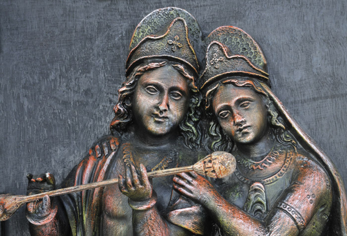 the expansions of rhada and krishna in religion