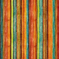 Retro Abstract Colourful Stripes