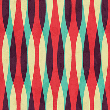 Retro Abstract Curves Seamless