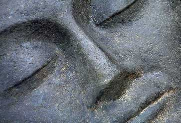 Stone Carved Face