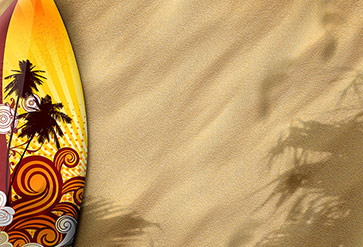Shop Surfboards On Sand Wallpaper In Sports Theme