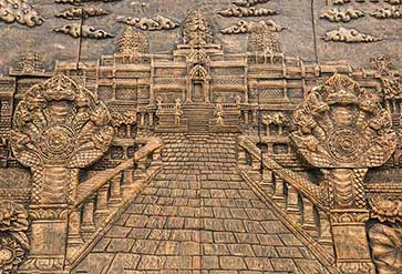 Temple Stone Carving