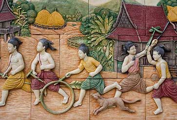 Thai Traditional Life Style