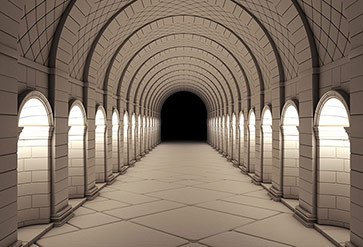 Vintage Column Tunnel