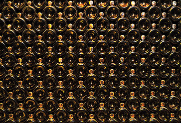 Buy Wine Bottle Wall Wall Murals in Textures Theme