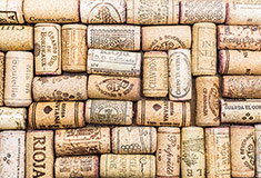 Wine Corks with Text