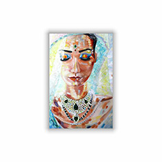 Indian Bride Oil Painting