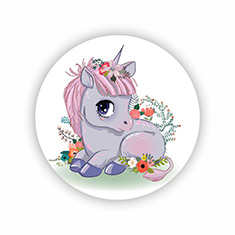 Fairytale Unicorn Coasters