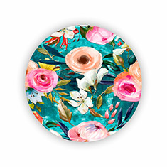 Floral Painted Coasters