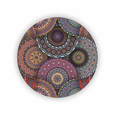 Mandala Elements Coasters